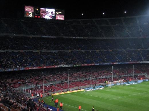 13+ Fc Barcelona Stadium Capacity