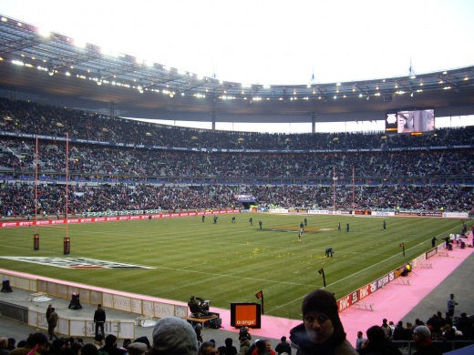View all stadiums in france